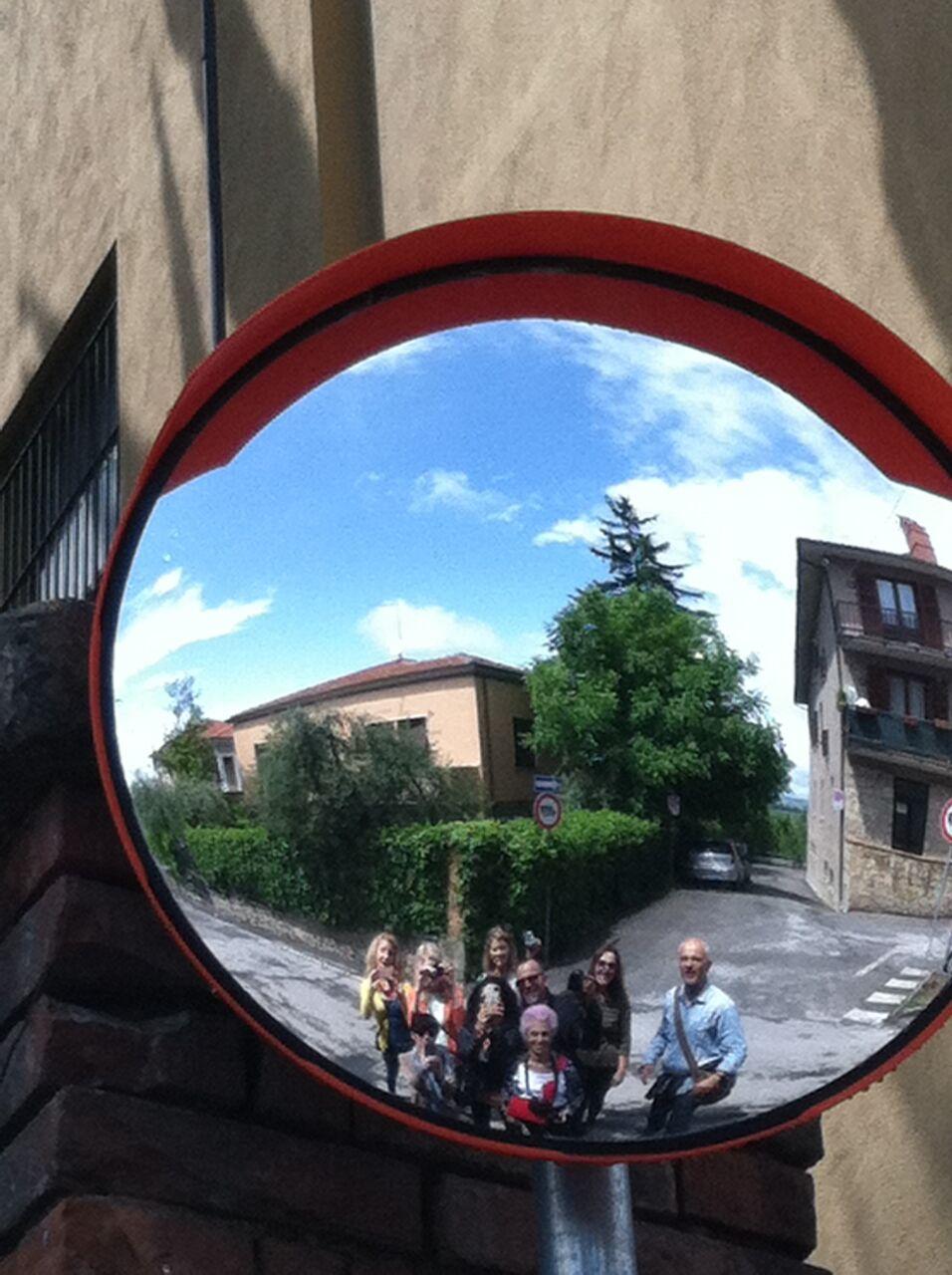 tuscan mirror | EAT.PRAY.MOVE Yoga Retreats | Tuscany, Italy