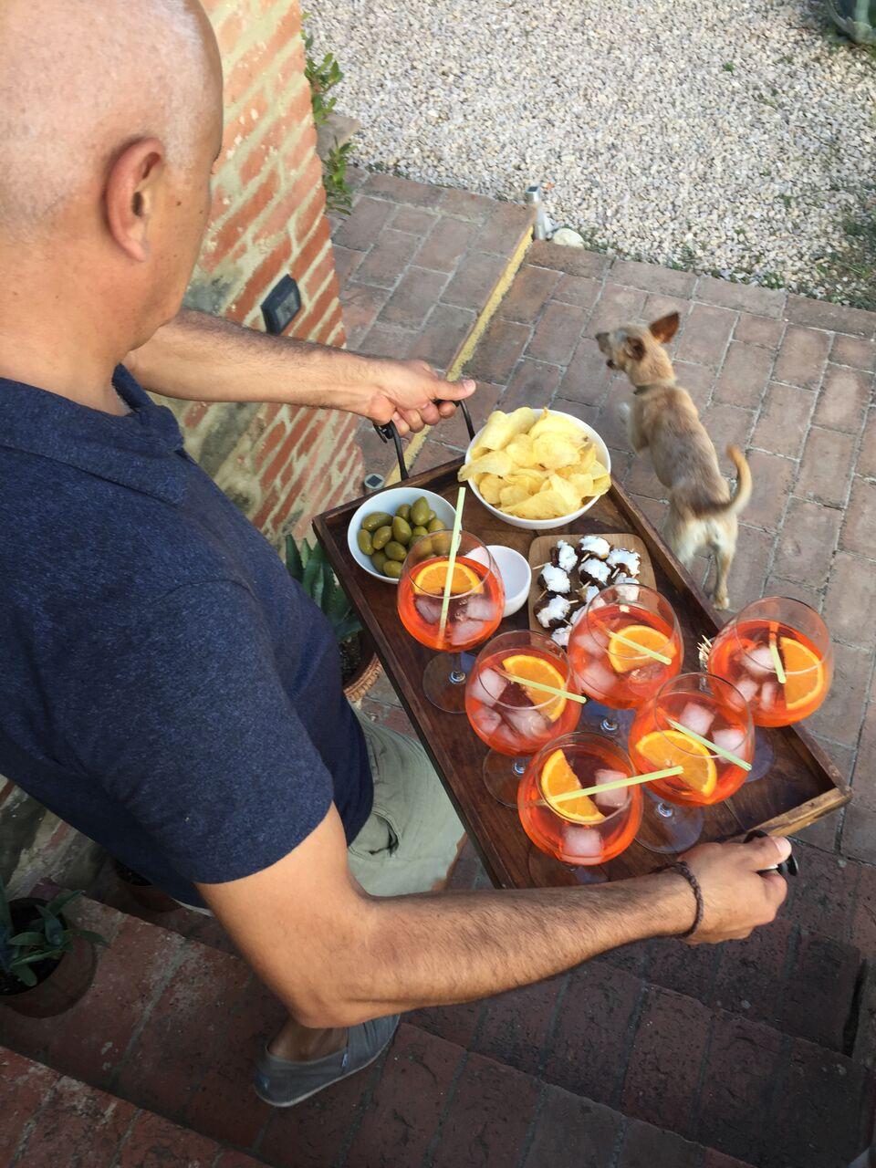 aperitivo | EAT.PRAY.MOVE Yoga Retreats | Tuscany, Italy
