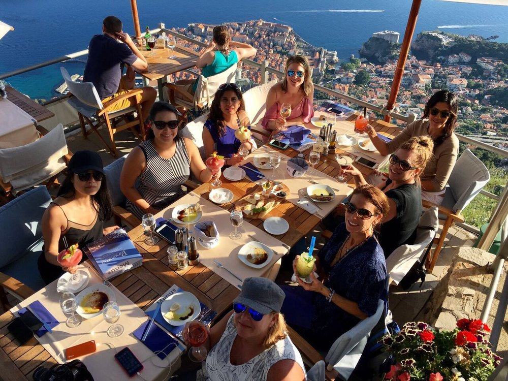 over Dubrovnik | EAT.PRAY.MOVE Yoga Retreats | Croatia