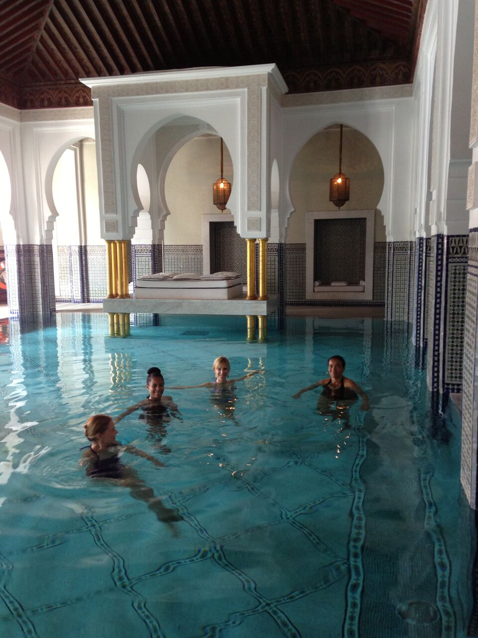 La Mamounia pool | EAT.PRAY.MOVE Yoga Retreats | Marrakesh, Morocco