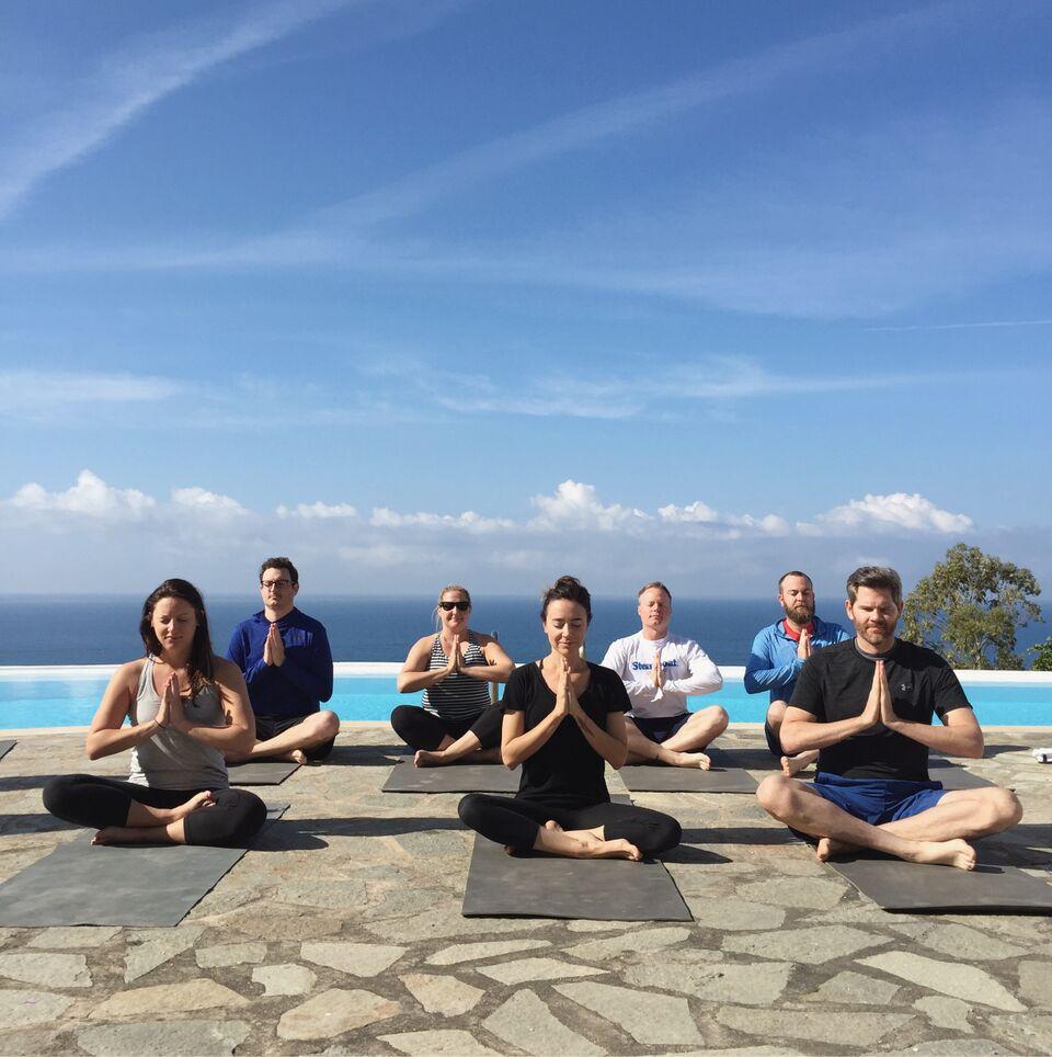 yoga by the sea | EAT.PRAY.MOVE Yoga Retreats | Amalfi, Italy