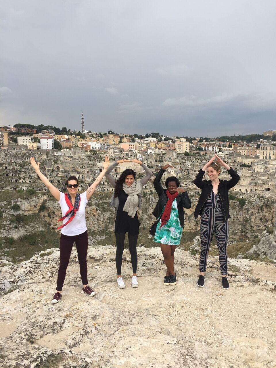 over Matera | EAT.PRAY.MOVE Yoga Retreats | Italy