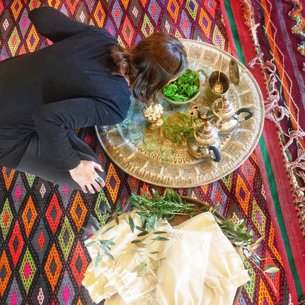 Moroccan tea | EAT.PRAY.MOVE Yoga Retreats | Marrakesh, Morocco