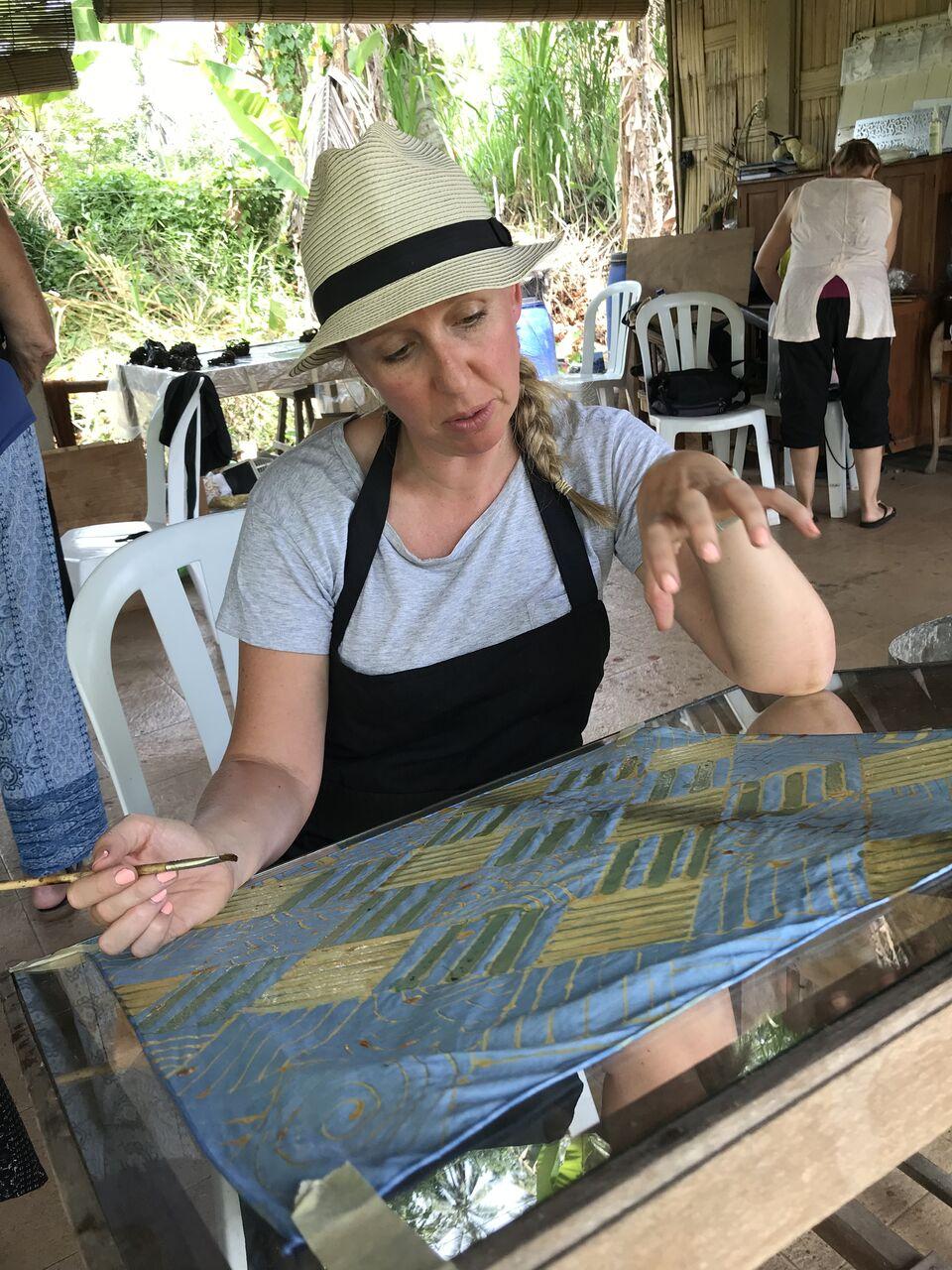 batik class | Threads of Life | give back | EAT.PRAY.MOVE Yoga Retreats | Bali