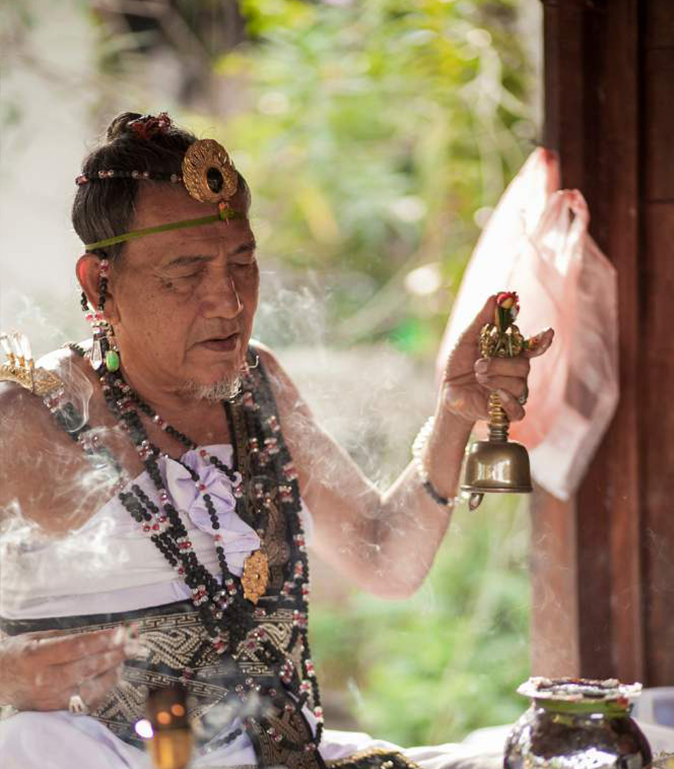 Healer at work EAT.PRAY.MOVE Yoga Retreats | Bali, Indonesia