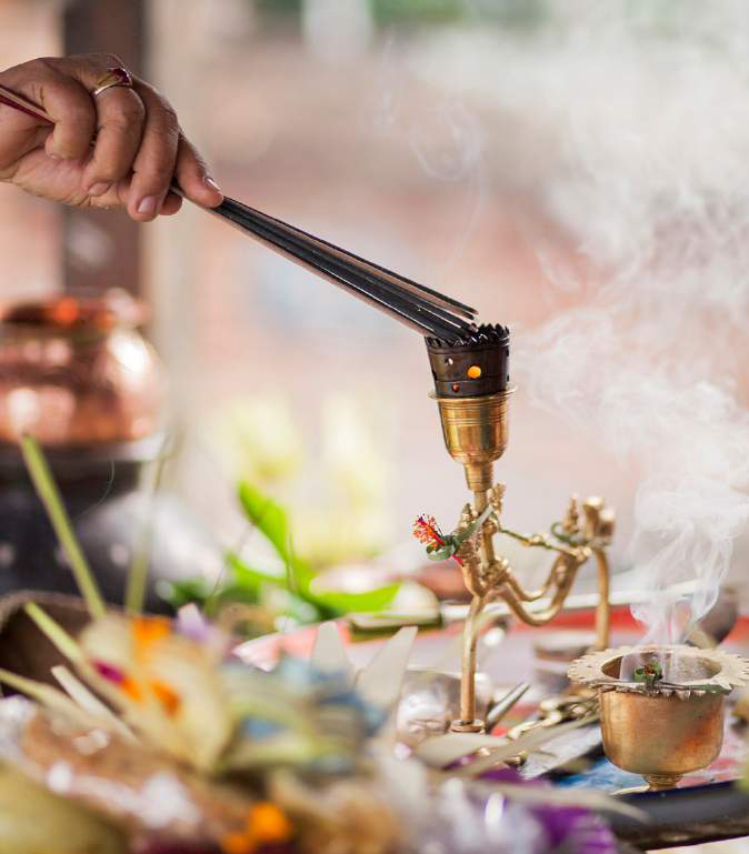 Incense for healing rituals EAT.PRAY.MOVE Yoga Retreats | Bali, Indonesia