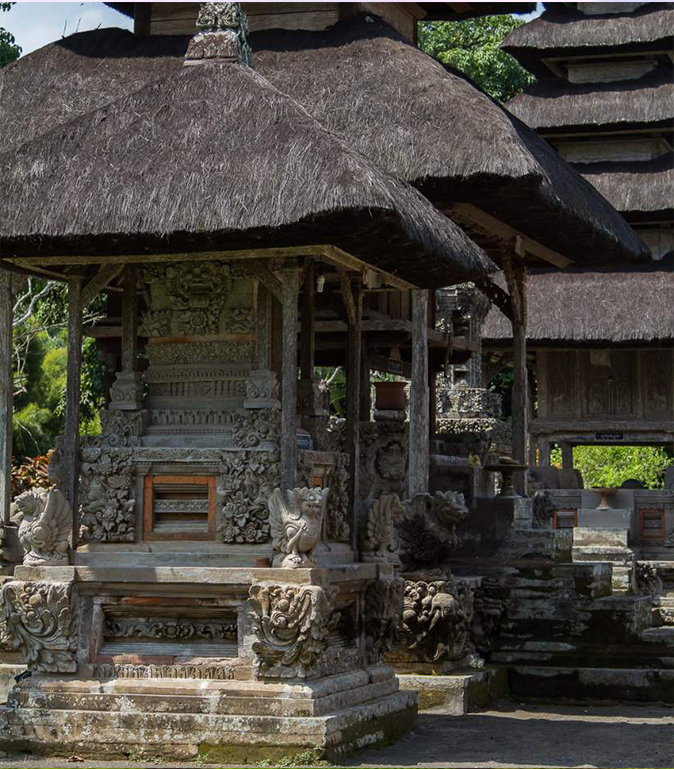 Serene spaces on the grounds Alila Ubud EAT.PRAY.MOVE Yoga Retreats | Bali, Indonesia