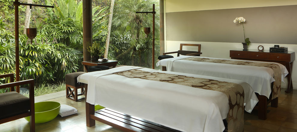 Massages by the jungle Alila Ubud EAT.PRAY.MOVE Yoga Retreats | Bali, Indonesia