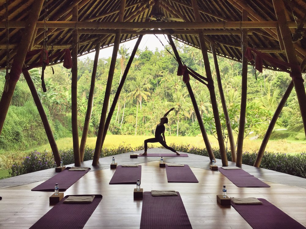 Yoga pavilion Four Seasons EAT.PRAY.MOVE Yoga Retreats | Bali, Indonesia