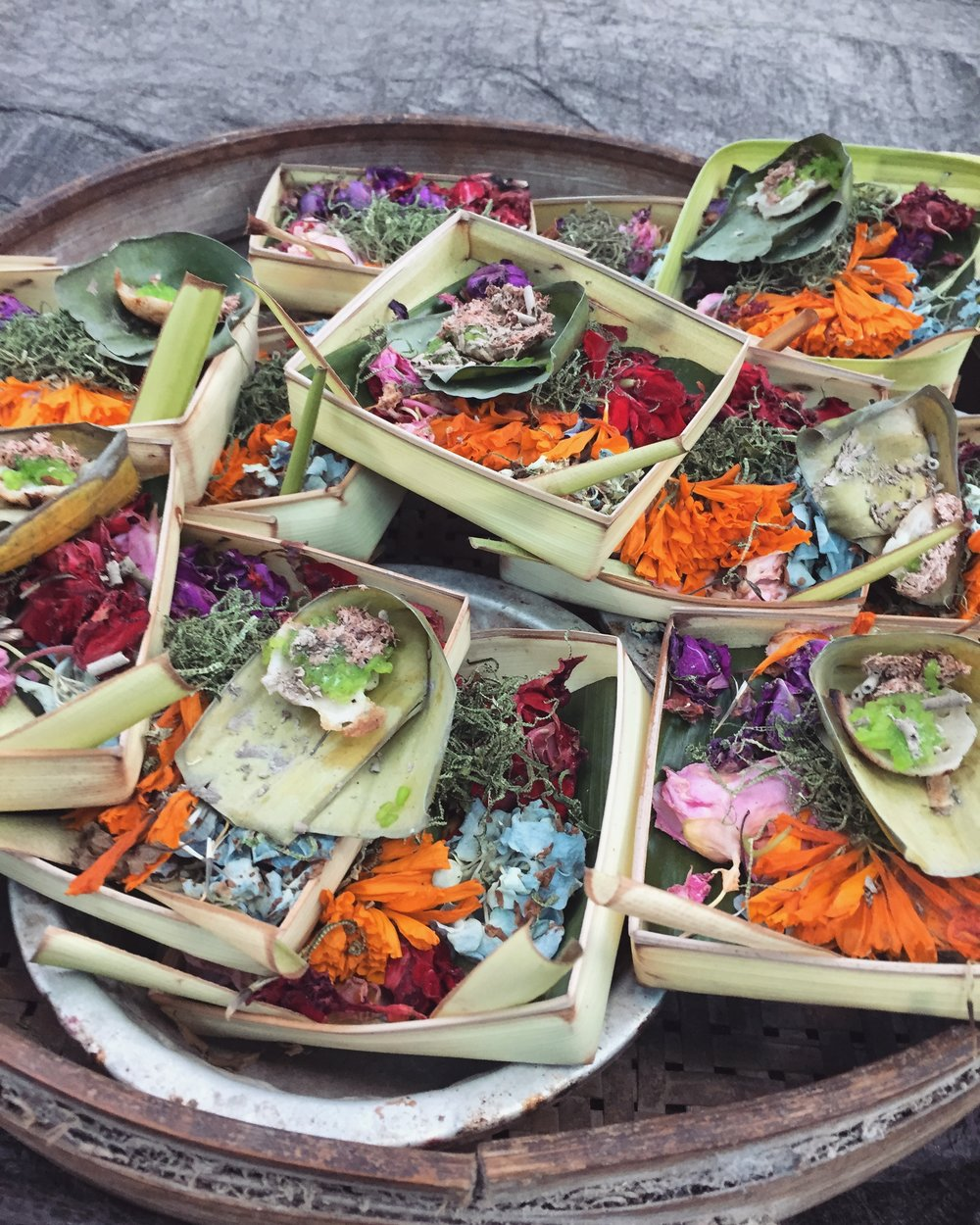 Food offerings EAT.PRAY.MOVE Yoga Retreats | Bali, Indonesia