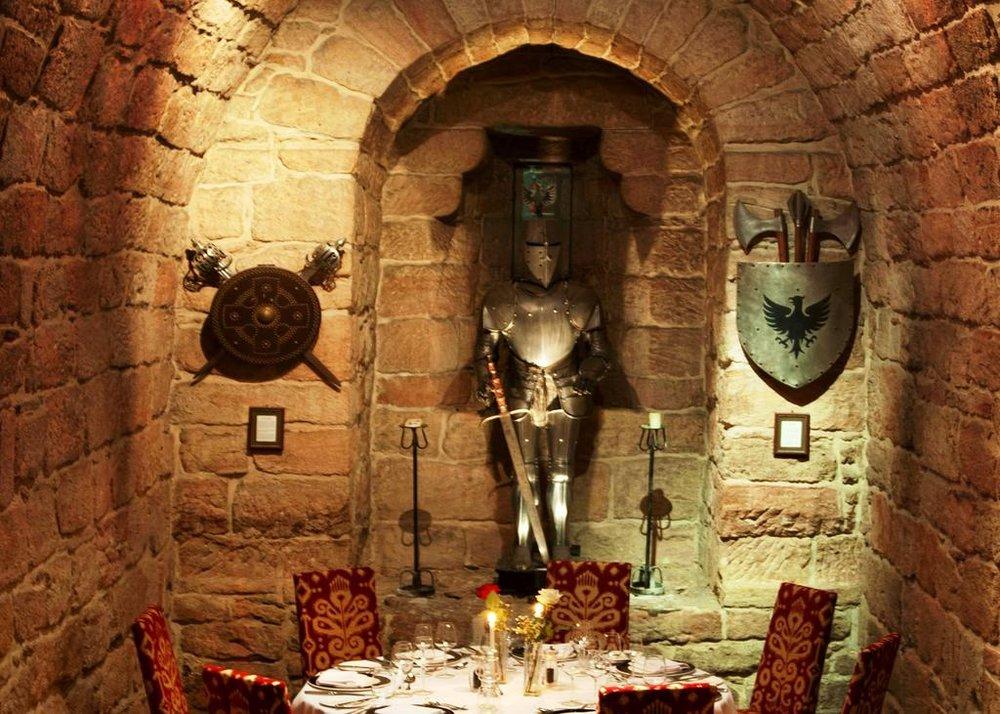 The Dungeon Dalhousie Castle | EAT.PRAY.MOVE Yoga | Edinburgh, Scotland