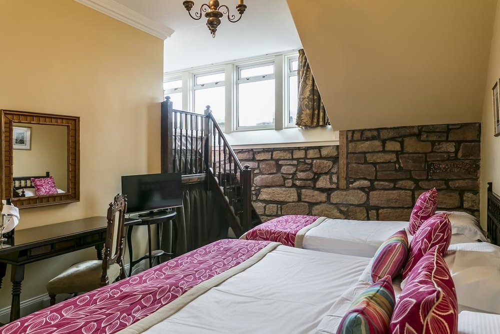 Cozy ground quarters Dalhousie Castle | EAT.PRAY.MOVE Yoga | Edinburgh, Scotland