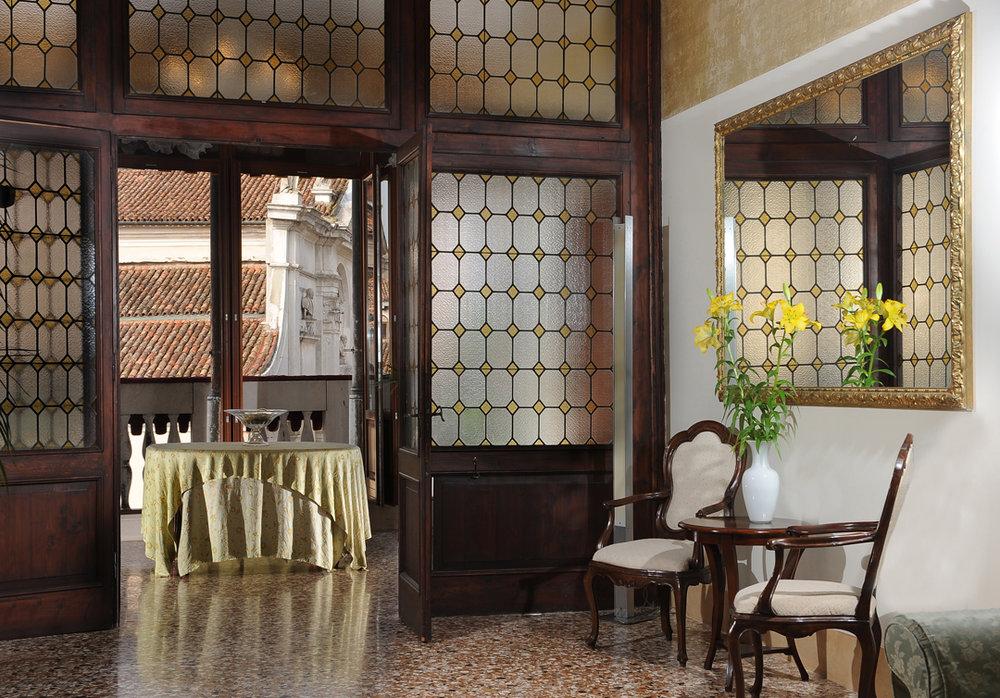 Atrium at Palazzo Vitturi EAT.PRAY.MOVE Yoga | Venice, Italy