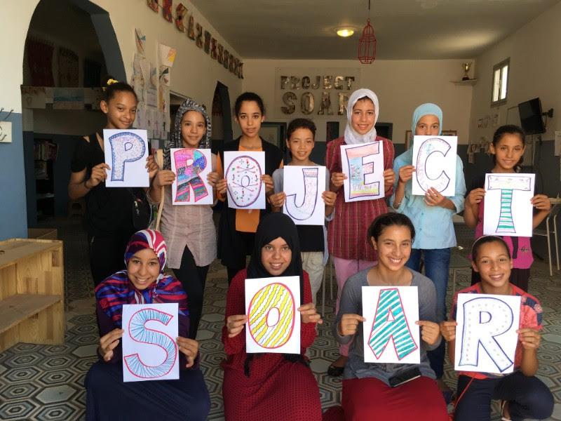 Project Soar girls | EAT.PRAY.MOVE Yoga Retreats | Marrakesh, Morocco