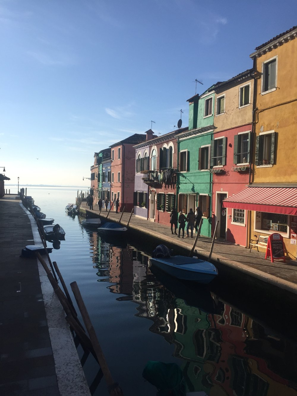 Colorful Burano | EAT.PRAY.MOVE Yoga | Venice, Italy