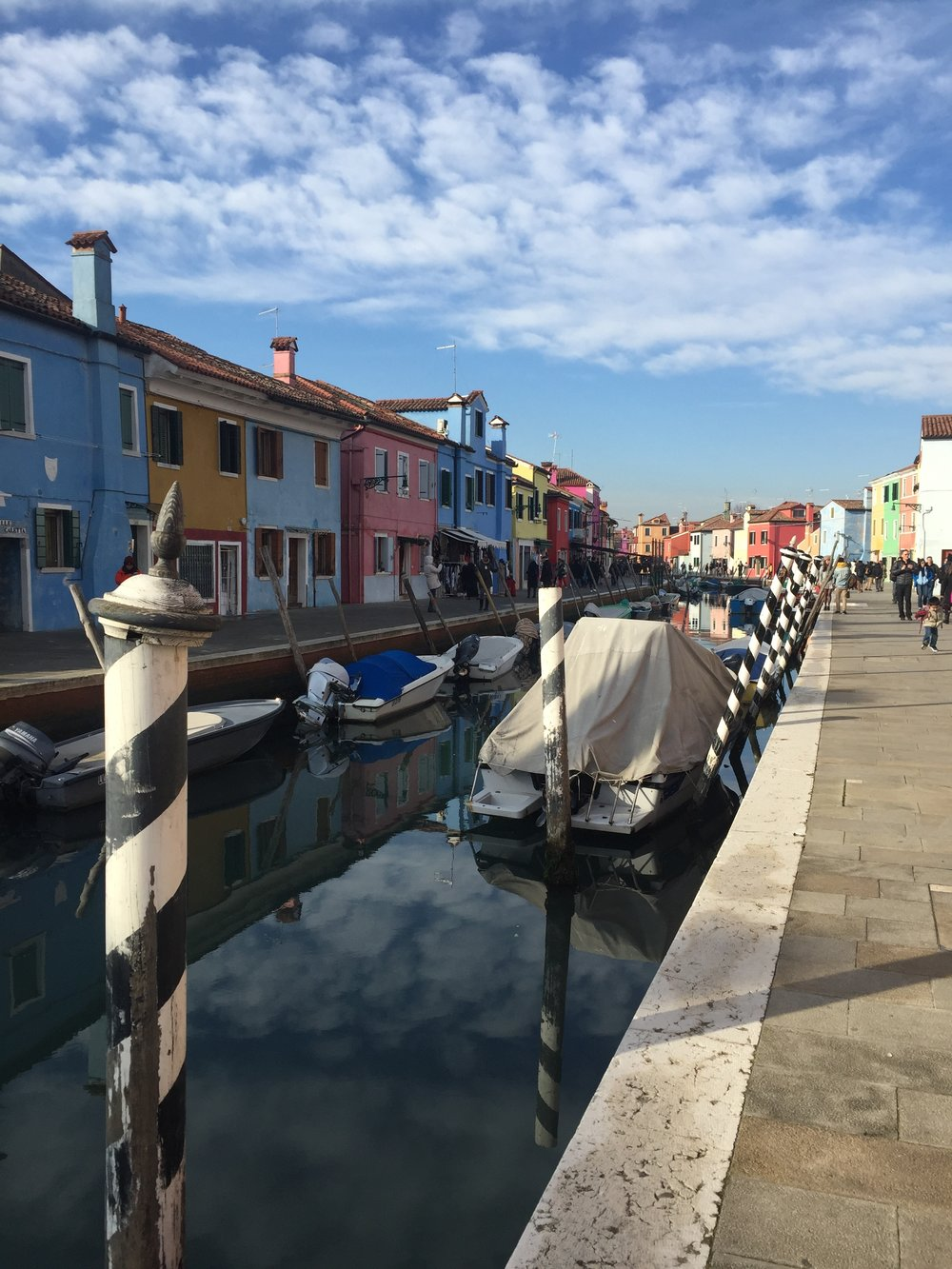 Reflections in Burano | EAT.PRAY.MOVE Yoga | Venice, Italy