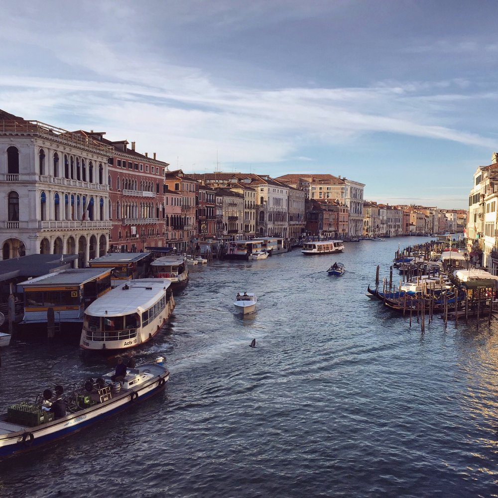View from the Rialto | EAT.PRAY.MOVE Yoga | Venice, Italy