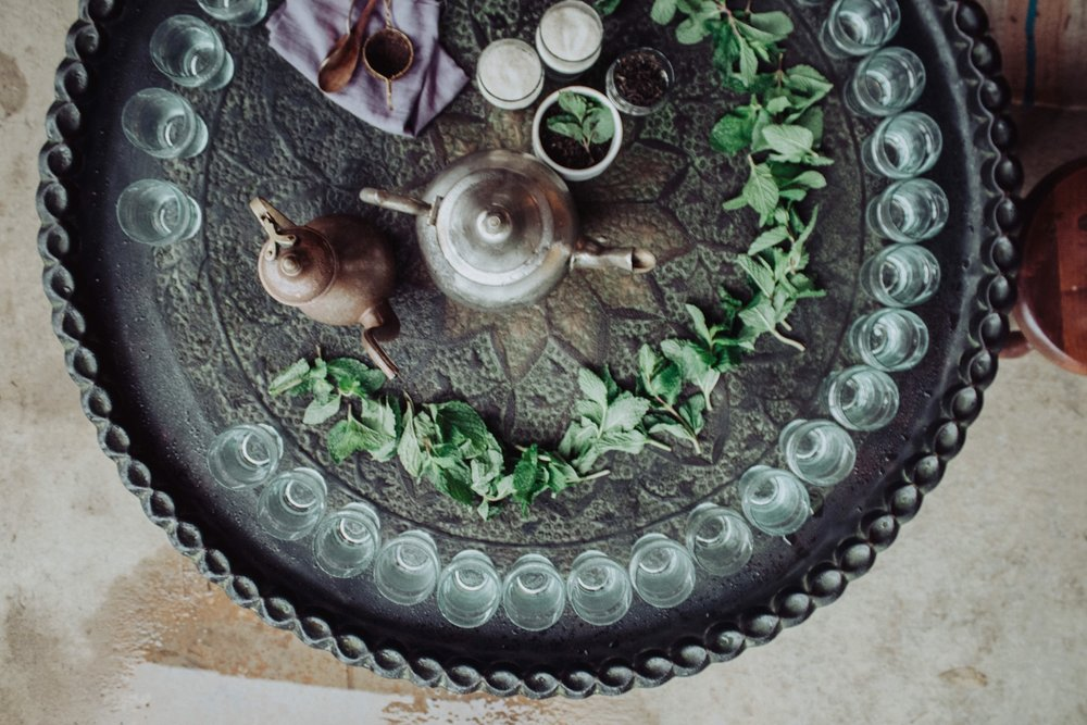 Tea and mint EAT.PRAY.MOVE Yoga Retreats | Marrakesh, Morocco