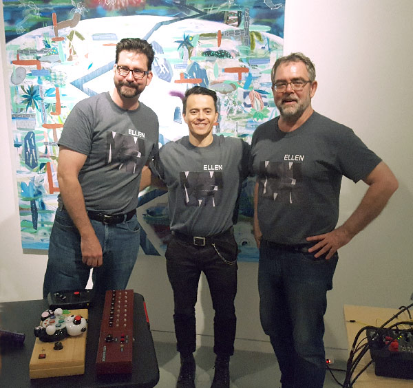 (l-r) Chris Kaczmarek,   Juan Pablo Arango,   and Tony Saunders