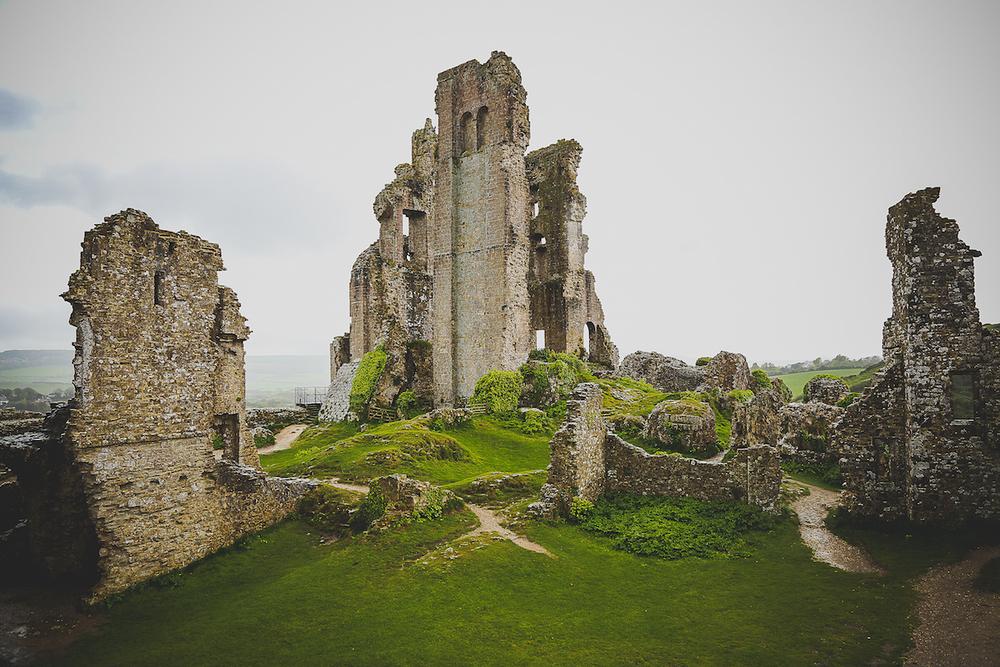 Corfe Castle, Wareham, Dorset, England
