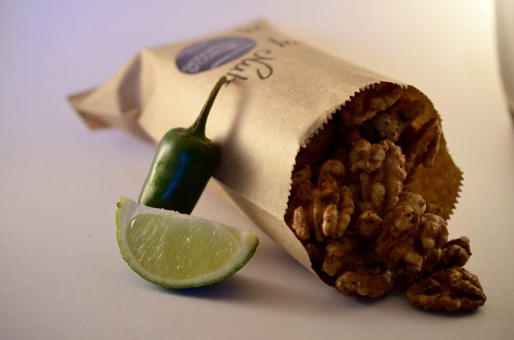 Hibiscus Dinners snacks: hjemmelaget sterke nøtter