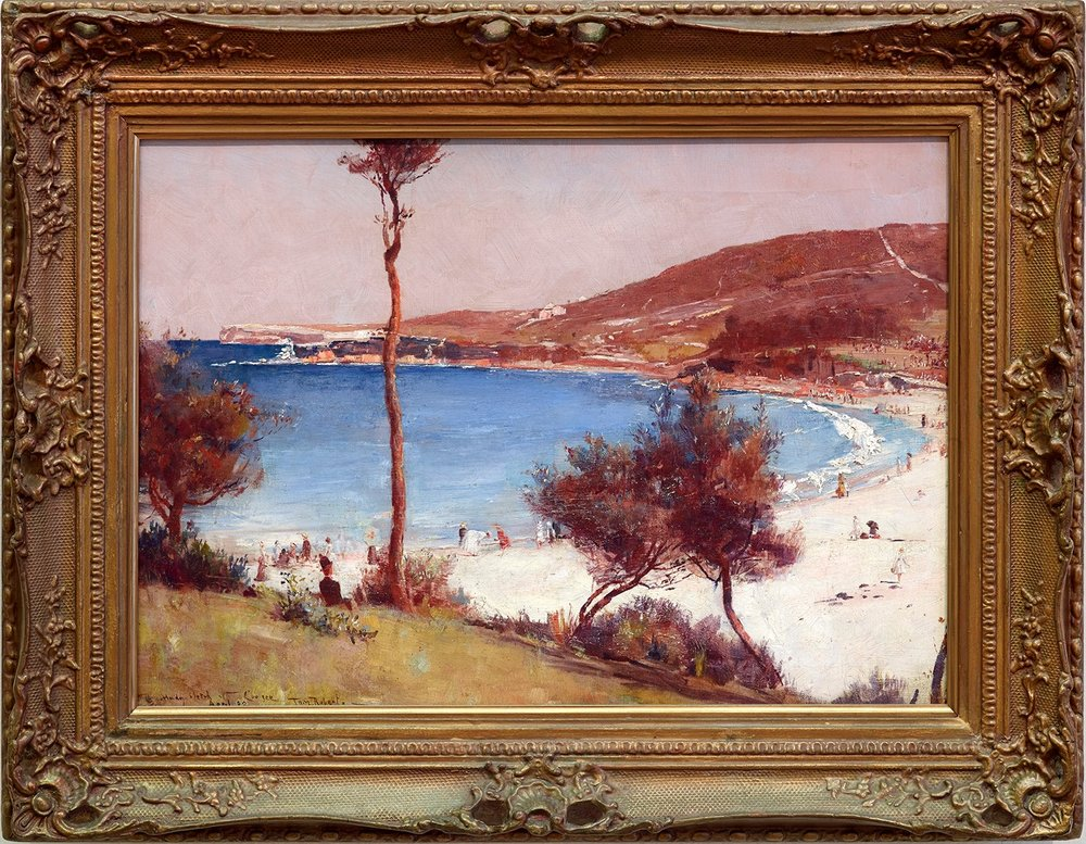 Tom Roberts,  Holiday Sketch at Coogee , 1888. Oil on canvas 40.3 × 55.9 cm Art Gallery of New South Wales, Sydney. Purchased 1954 © AGNSW