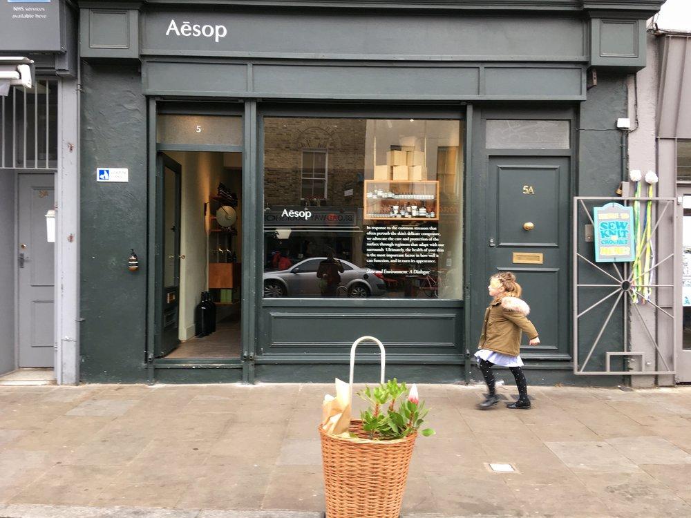 Aesop Broadway Market, London