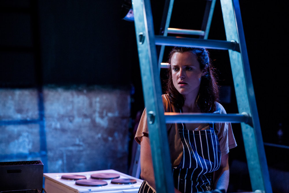 Emma Playfair as Elma in Food, by Steve Rodgers. Photo Credit: The Other Richard