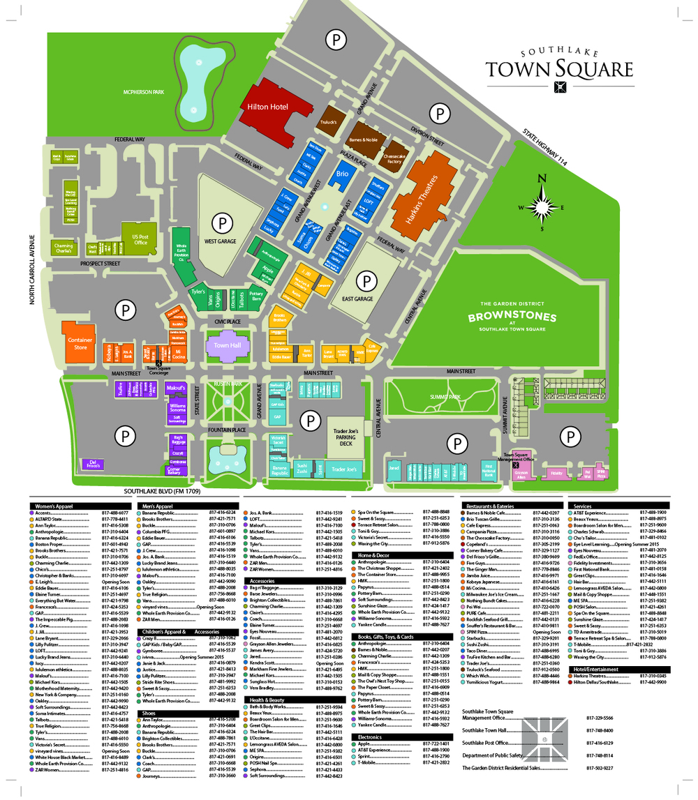 Southlake Mall Map Southlake Mall Map | compressportnederland Southlake Mall Map