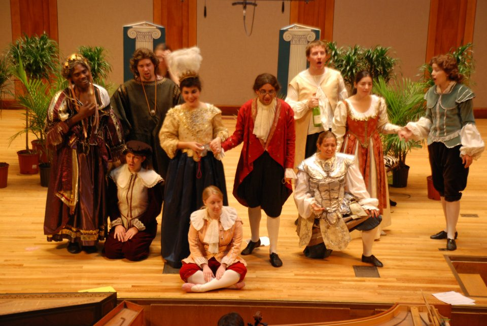 """""""Amore"""" in Cesti's """"Orontea"""" <br> with the Longy School of Music - 2011"""