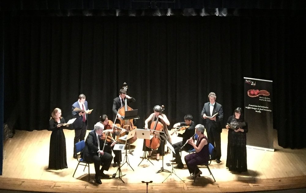 BWV 21 with Borromeo String Quartet - 2017