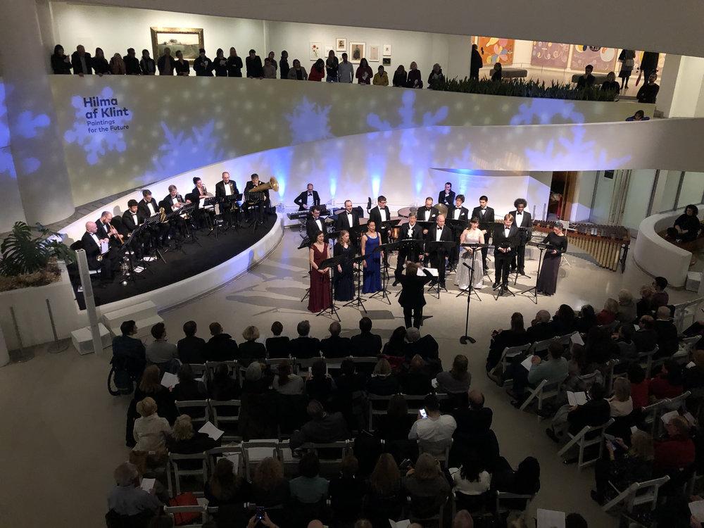Vox Vocal Ensemble at the Guggenheim - 2018