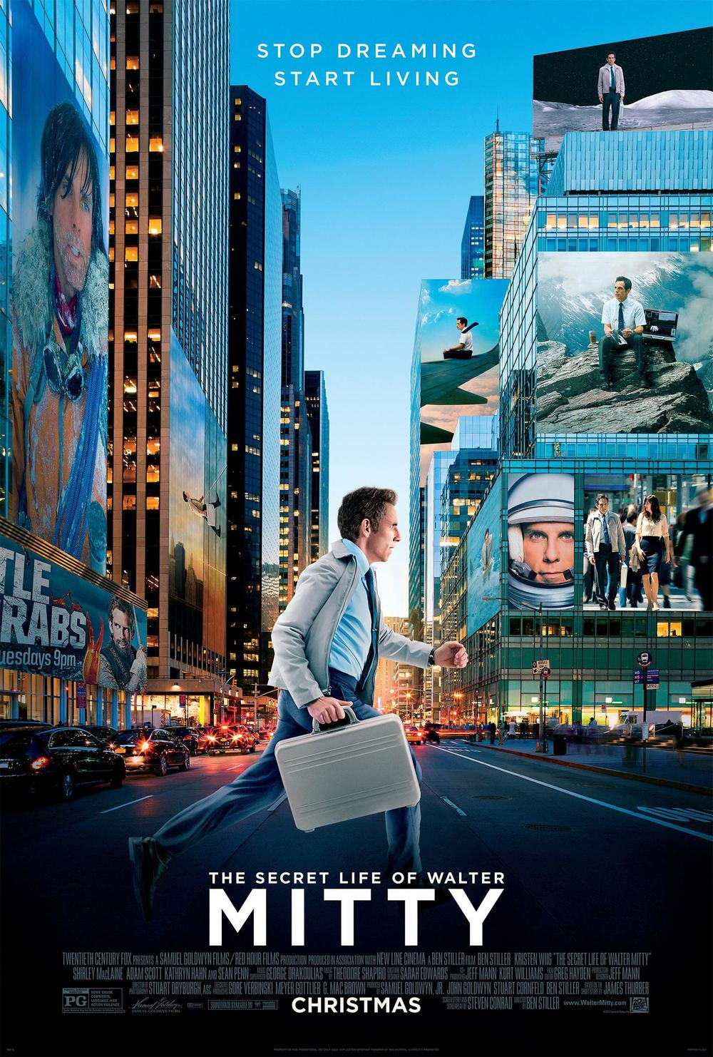The Secret Life of Walter Mitty.  Visit Collaboration at jonevonfurs.com