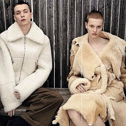 His & Hers Fur: T Singapore showcases his 'n' her inspired styles for its August 2017 issue. We do custom orders. Choose your style #customfur #jonevonfurs #madeinnewyork #shearling