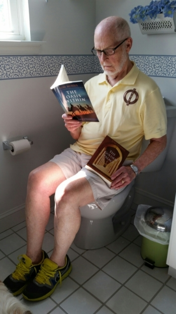 "A retired eye specialist answers the question: ""Are these books good bathroom reading?"" with a resounding ""Yes!"" He also believes the wisdom of the books to be ""commodious."""