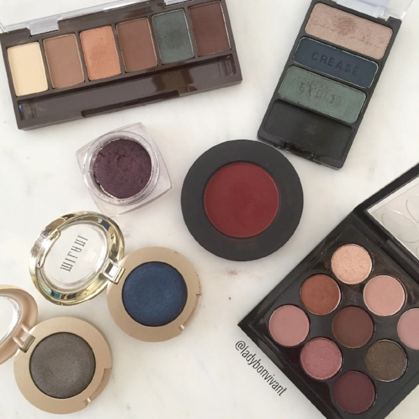 Fall and winter eye color favorites