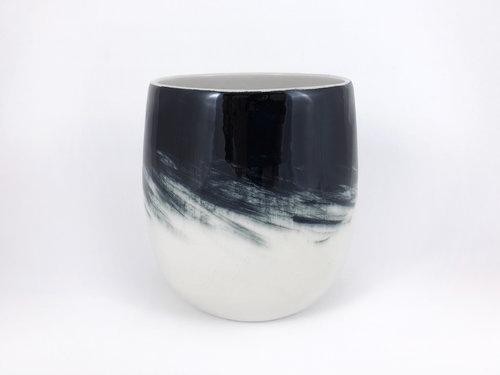 Black Swan Vase Jen Cotton Design
