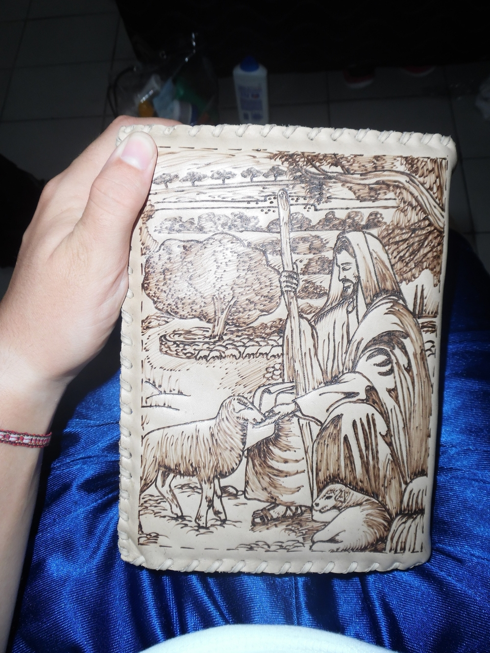 Awesome scripture case I had made in Brazil.