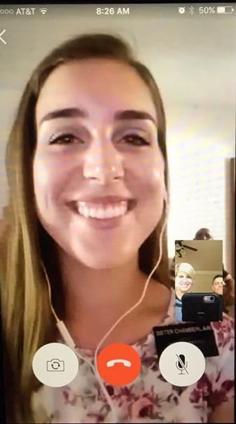 Christmas Skype Call 2016