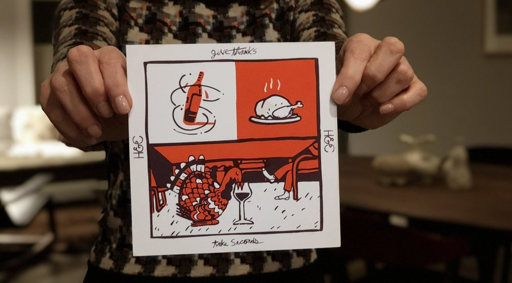 Bonus: the first 50 orders will receive a limited-edition silk-screened wine menu from local artist and talented friend of the Cru,    Cryptogram   .