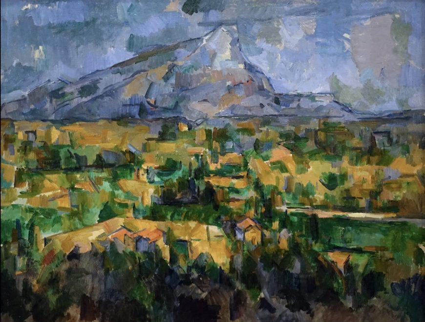 Paul Cézanne, Mont Sainte-Victoire, 1902-04, oil on canvas, 73 x 91.9 cm (Philadelphia Museum of Art)