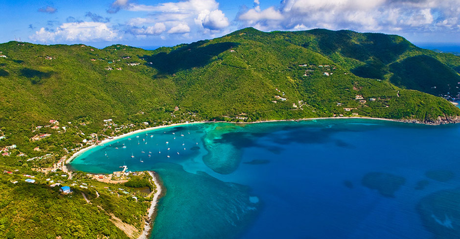 // Cane Garden Bay →<p>Classic Tortola beach town often with great surf but always good island vibes. </p>