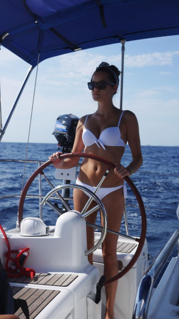 // Take The Helm →<p>Experience the thrill of sailing the boat.</p>