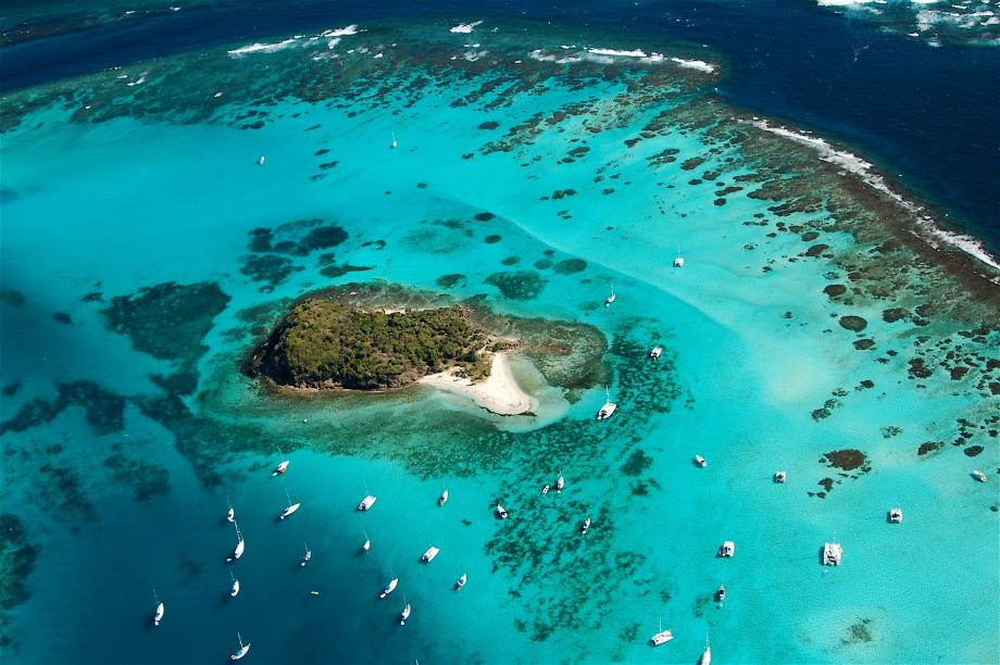 // Tobago Cays →<p>We don't have words to describe them, and when we sail into this cove, you won't either.</p>