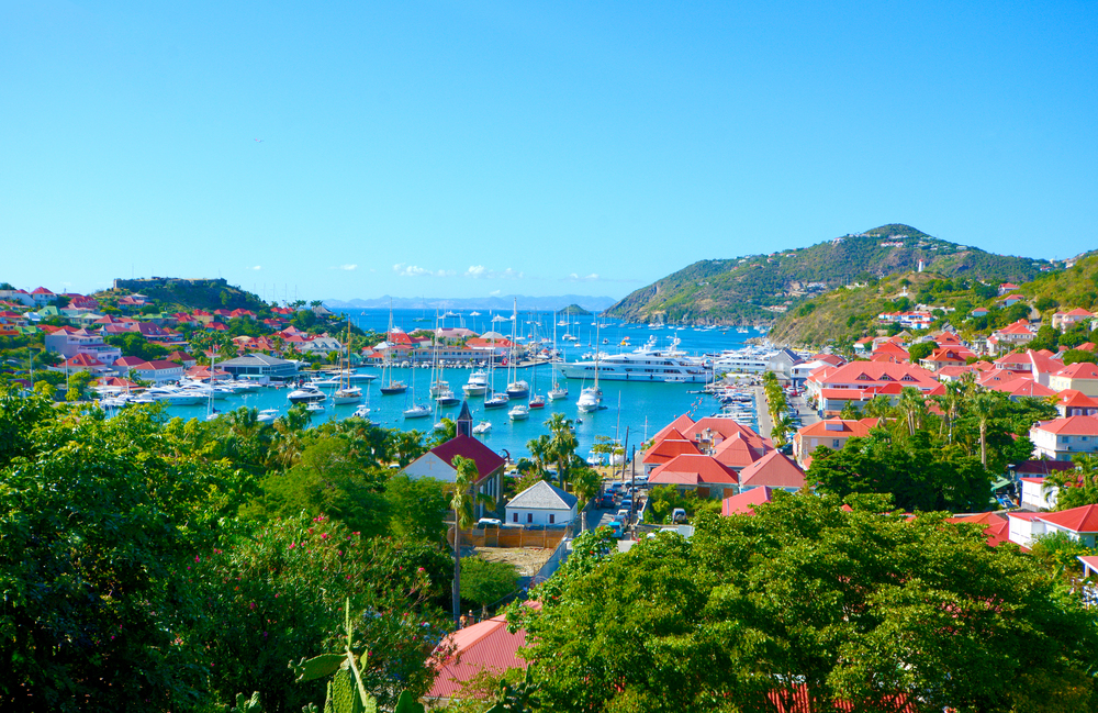 // Gustavia →<p>The picturesque capital of St. Barths, Gustavia's French culture and elegance make it the Paris of the Caribbean.</p>