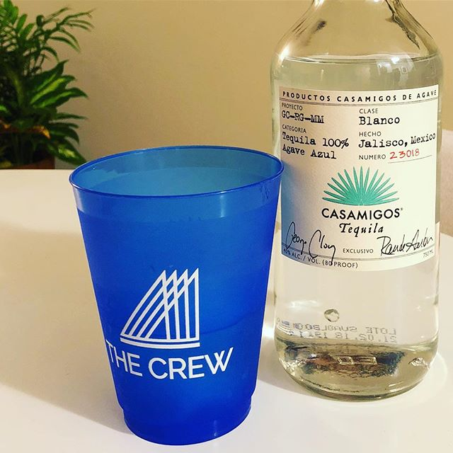 Some things are meant to be // thanks for the goods @casamigos! #itsyourcrew #tequila #adventure