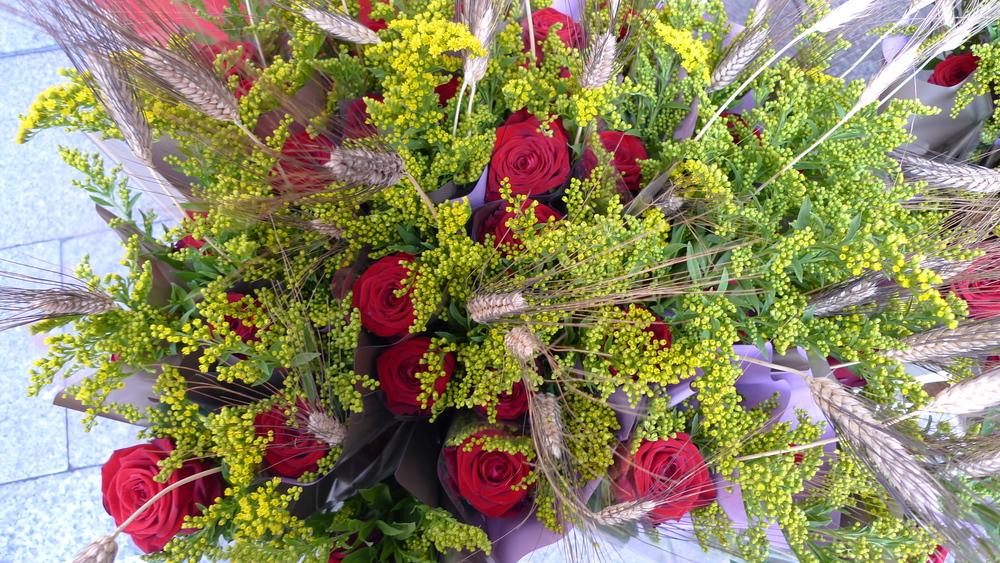 Bouquet on Rambla Catalunya