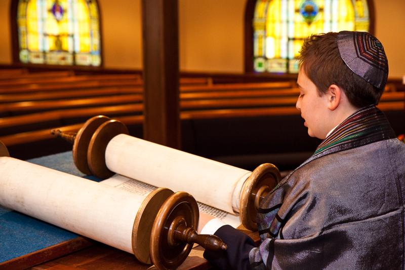 Zach`s Barmitzvah Adat Shalom Synagogue