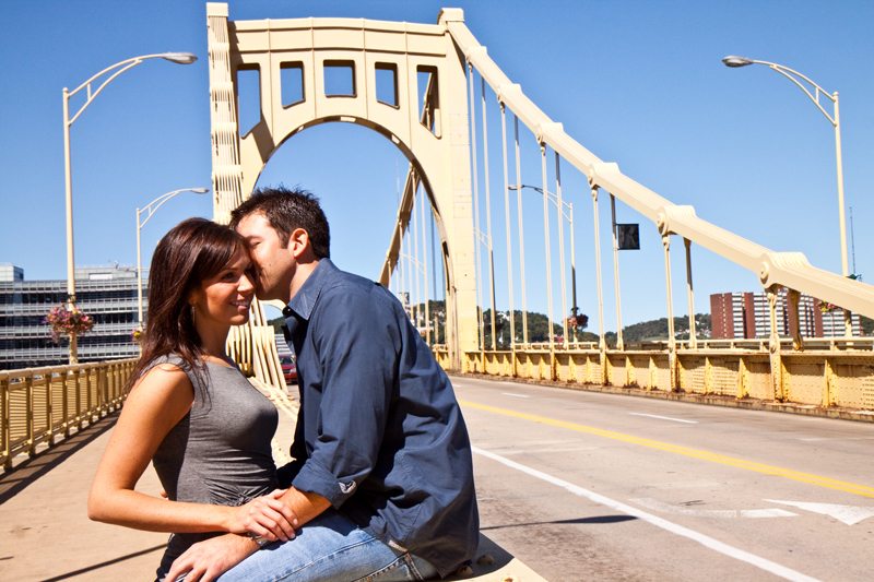 Ashley and John Engagement Photography Session, Pittsburgh