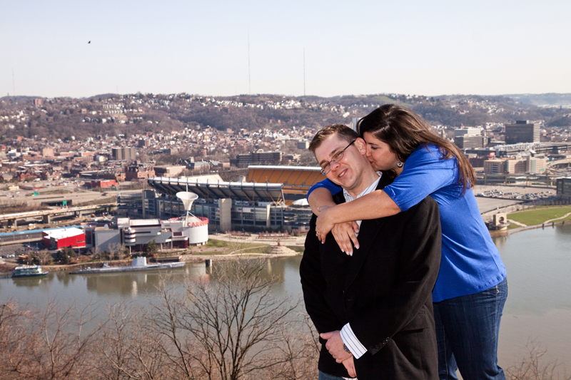 Deanna and Eric Engagement Photography Pittsburgh